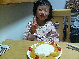 ホノカとケーキ