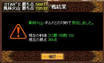 6月7日風林火山