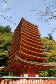 多武峰寺十三重塔