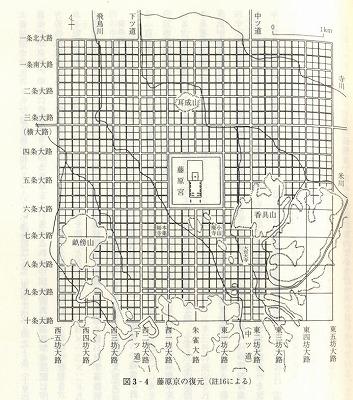 藤原京復元図