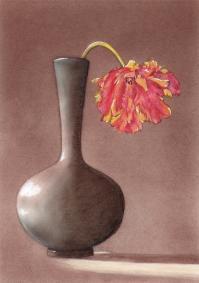 19941021メイプルソープの花 模写