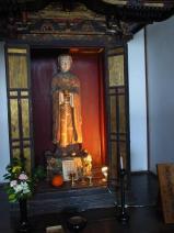 飛鳥寺 聖徳太子16歳孝養像