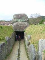 石舞台 石室入口