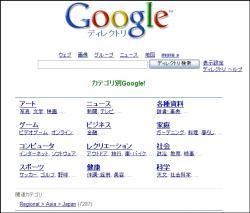 googleディレクトリ