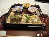 前菜(朝顔小鉢新涼盛り)
