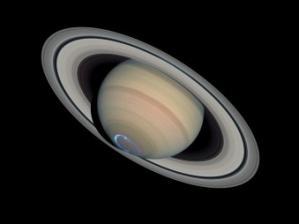 土星オーロラ01