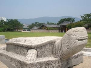首露王陵の亀