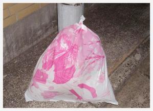 萌えるゴミ袋