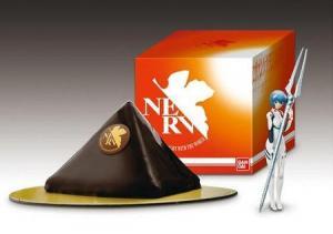 ネルフ本部型チョコケーキ
