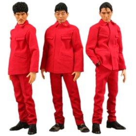 赤い人民服