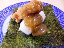 から揚げカレー寿司