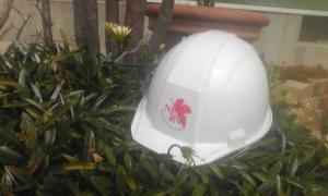 ネルフ謹製ヘルメット