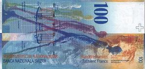 100フラン