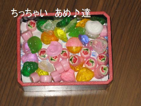 ちっちゃい飴の詰め合わせ(*´艸`)