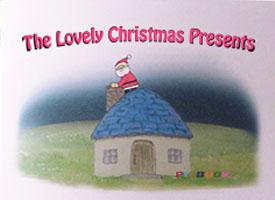 「すてきなクリスマスプレゼント」英語版表紙