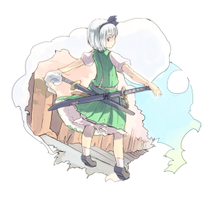 妖夢の日妖夢