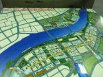 橋周辺の万博会場の地図です