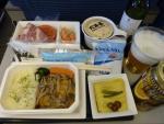 2010/5/18昼食 NH1281便(羽田-上海)にて