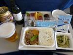 2010/5/22昼食 NH1282便(上海-羽田)にて