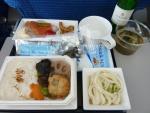 2010/6/30昼食 NH1282便(上海-羽田)にて