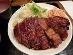 大阪駅前第2ビル 豚々亭 大トンテキ定食