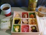 2010/12/15昼食 JL81便(羽田-上海)にて