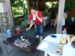 できもぐプロジェクトbyTATSUMI!焼きおにぎりに心太はいかが?(2011/7/17黄金崎公園ビーチ)