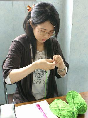小道具制作:毛糸