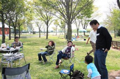 琵琶湖でBBQデビュー