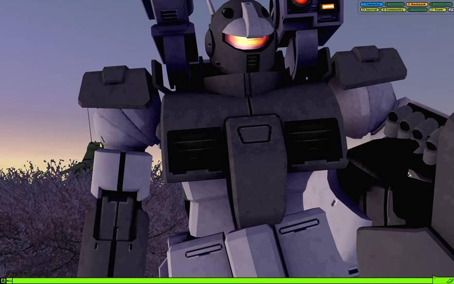 未来ロボット風?