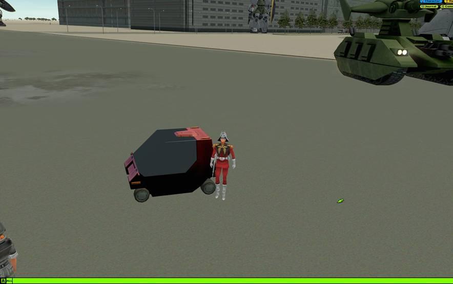 シャア専用タクシー