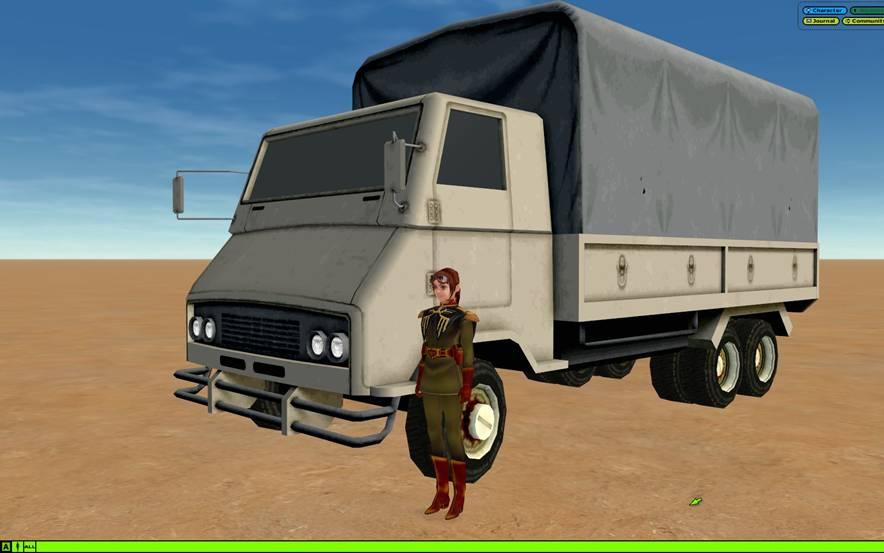 白トラック