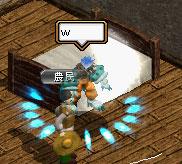 ベッドふかふか~♪