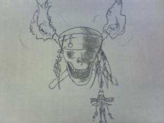 パイレーツオブカリビアンの骸骨