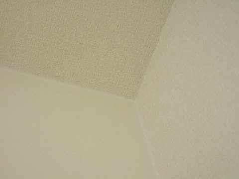 天井に向かって……