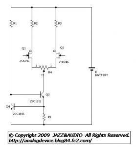 091011 差動増幅回路のデータ採取