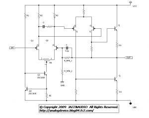 091011 FET 2段差動増幅回路