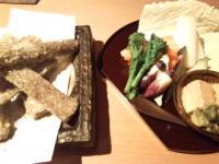 ごぼう揚げ、箱根野菜
