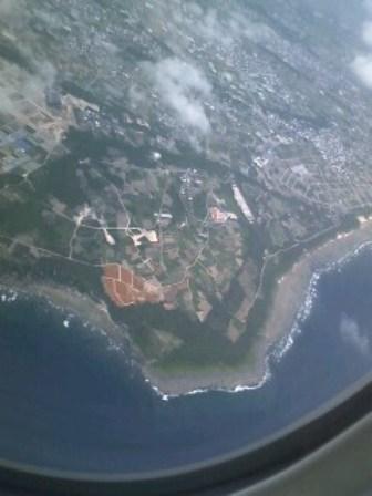 沖縄上空1
