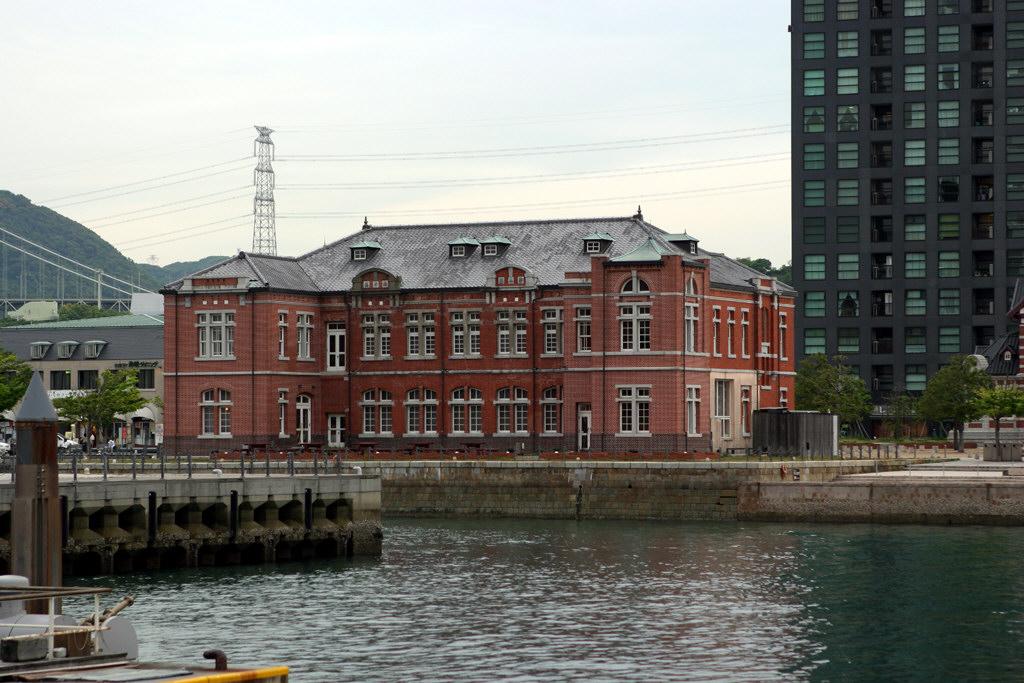 門司港の煉瓦の建物