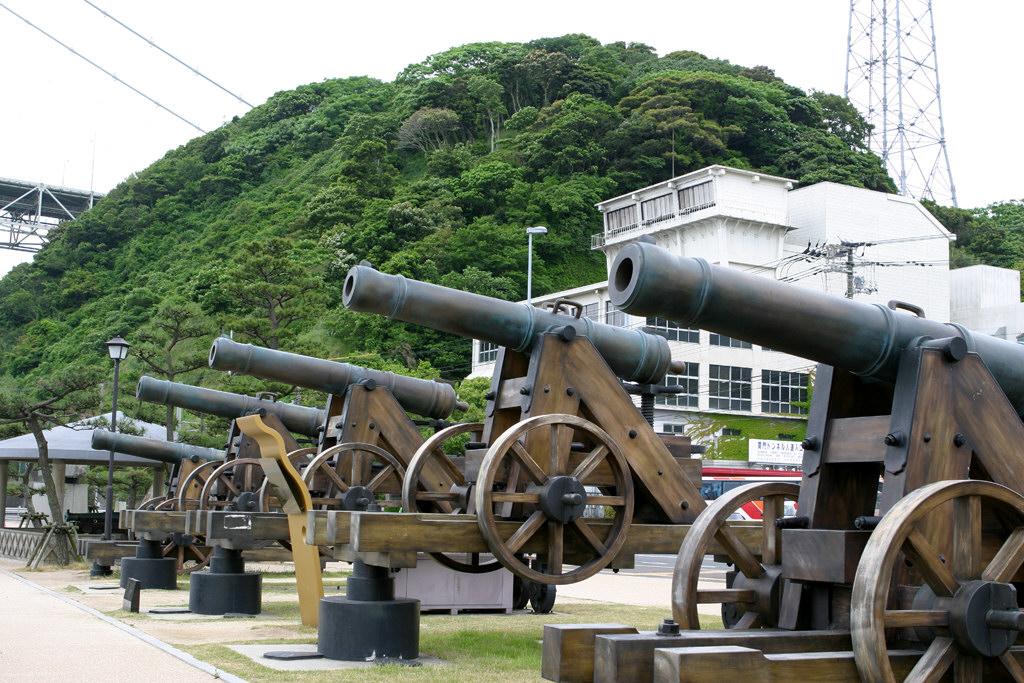 壇ノ浦砲台の長州砲