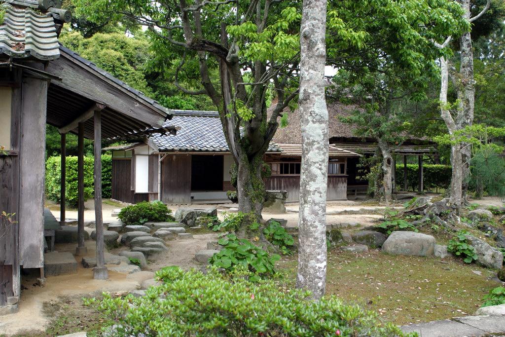 萩城趾の茶室