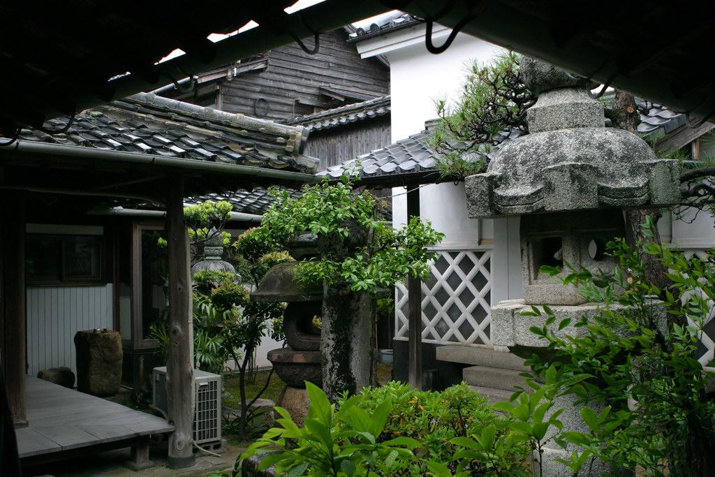 萩の御船倉の旧家