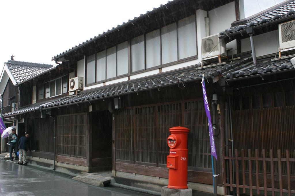 萩、浜崎地区の丸ポスト