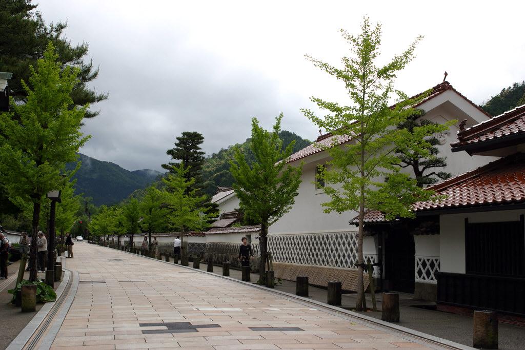 津和野の街の様子