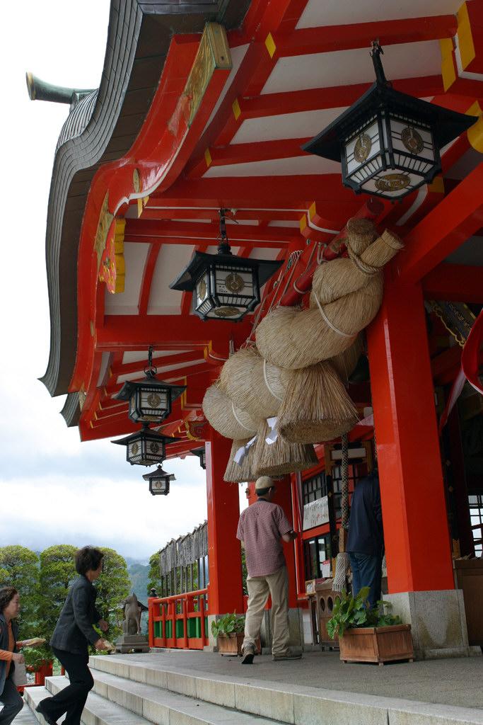 太鼓谷稲成神社本殿