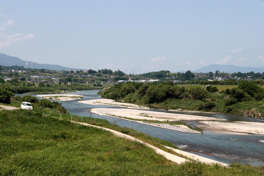 天竜川の様子