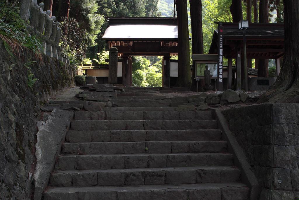 西福寺門前の階段