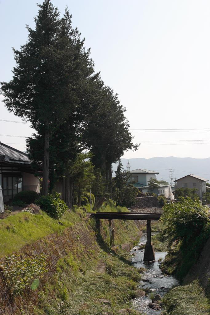 小さな川の風景