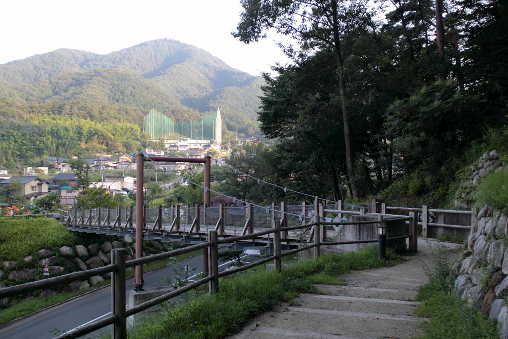 かざこし子どもの森公園内の橋